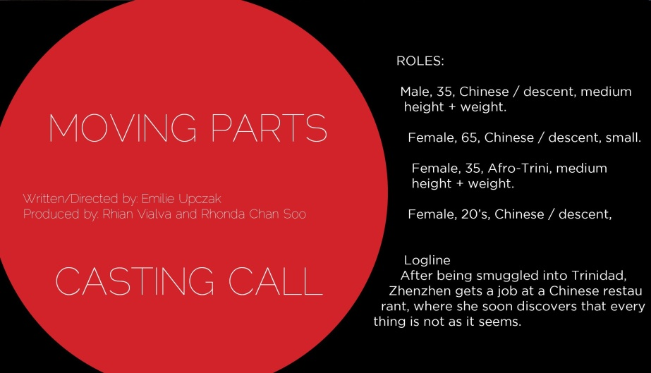 Casting Call For Feature Film- MovingParts